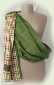 Ring sling Lana-ZiLana two-ply